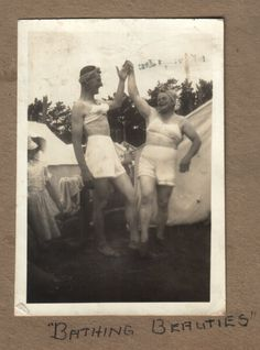 """Date unknown  """"This photo is from a discarded photo album which I found at a landfill in Victoria, Australia.""""  (via Katja)"""