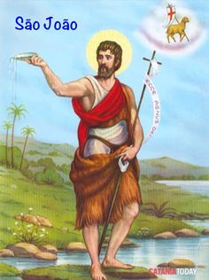 23 de Junho - Dia de São João Acesse a história, batismo de Jesus, morte de João Batista.