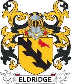Eldridge Family Crest and Coat of Arms