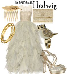 Harry Potter inspired clothing styles HEDWIG from Disney Bound