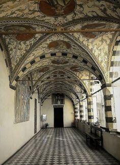Loggia in S.Maria di Castello-Genova