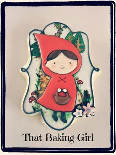 Little Red Riding Hood cookie