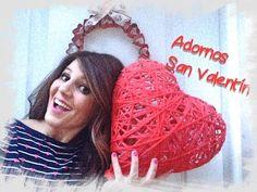 COMO HACER UN CORAZON DE TUBITOS DE PERIODICO - SAN VALENTIN (PAPER HEART made with newspaper) - Ani - YouTube