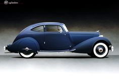 Packard Twelve 1106 Aero Sport Coupe, 1934