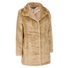 Ellen Tracy Faux-Fur Chevron Walker Was: $550.00                     Now: $219.99