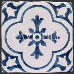 18th Century inspired Cuisine de Monet and our 17th Century Antiqued Delft Tile.