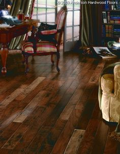 Something I may try with the cork planks in White Sand & Tuscan Sand. Repining: Awesome Multi-Tone Flooring