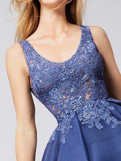 Cocktail dress asymmetrical skirt