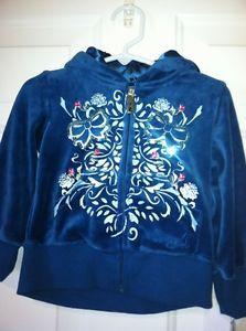 Disney Fairies Tinkerbell Cinderella 2T Velour Sweatshirt Jacket Hoodie   eBay