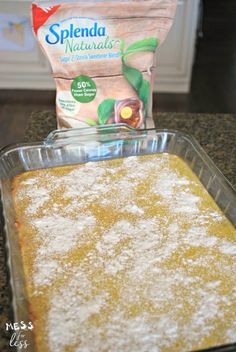 These Lemon Bars are the perfect summer treat. Just the right amount of tartness combined with a delicious cookie crust. Sugar Free Deserts, Sugar Free Cookies, Lemon Cookies, Yummy Cookies, Diabetic Foods, Diabetic Desserts, Diabetic Recipes, Diet Recipes, Diet Desserts