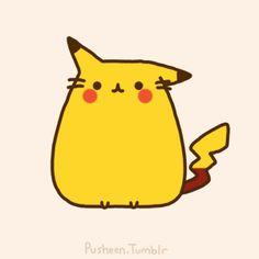 Pusheen Pikachu!