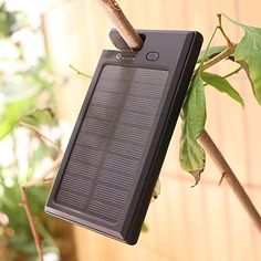 Solar Charger X-DRAGON Portable 9000mAh Solar Panel Power - Current price: USD $19.99 - Track it on NOTIVO.COM - #Wirelesses, #WirelessAccessories, #X-DRAGONs - Solar Charger X-DRAGON Portable 9000mAh Solar Panel Power Bank for iPhone, iPad Air mini, iPod, Samsung, Android Smart Phones and Tablets, Gopro Camera and other 5V USB devices(Black)