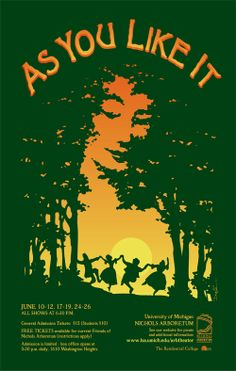 Shakespeare's The Tempest Poster Design The Tempest is a