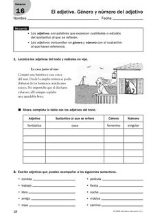 Refuerzo y ampliación lenguaje 5º Elementary Spanish, Teaching Spanish, Spanish Language, Speech And Language, Fourth Grade, Third Grade, Spanish Lessons Online, Spanish Classroom Activities, Spanish Games