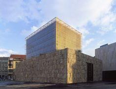 Centro Judío de Munich, Alemania (Wandel Hoefer Lorch Architekten) - Ganador de los Premios 2007.