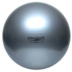 TheraBand Exercise Ball 34cm  85 cm Silver Bagged >>> Continue to the product at the image link.