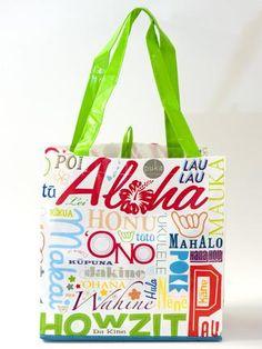 Aloha Hawaii Reusable Bag | Shops of Hawaii - Gotta replace these!!!! My favorite!! $3.99