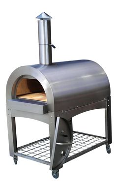 Portable wood fired oven