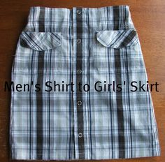 From Shirt to Skirt {Tutorial Link}