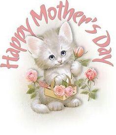 Happy Mother's Day kitten.