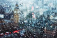 Raindrops in London Eleanor, Smell Of Rain, Sound Of Rain, Rain Drops, Pink Aesthetic, Continents, My World, Old Things, London