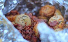 Braai'd Baby Potatoes Recipe by Siba Mtongana : Food Network UK