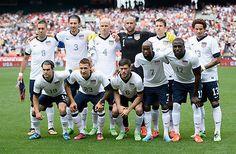 Signed Game-Worn U.S. MNT Jersey: S.Holden 11 USA vs Germany 2013 soccer