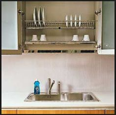 These were EVERYWHERE in Italy! I would do it in our kitchen if we didn't have a window above the sink!