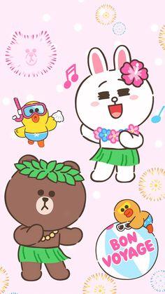 Duck Wallpaper, Lines Wallpaper, Summer Wallpaper, Cool Wallpaper, Pattern Wallpaper, Iphone Wallpaper, Brown Wallpaper, Cony Brown, Brown Bear