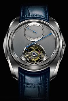 """Akrivia Tourbillon Regulator Watch -by Rob Nudds- see & read more about it on aBlogtoWatch.com """"Like any parent will tell you, one of the greatest joys in life is watching your child mature into a unique personality. The development of a brand is a similar ontogeny that must be just as exciting and intimidating for its owner... With the Akrivia Tourbillon Regulator, the latest watch in this fast-growing family, it is just about possible to say that the DNA of this small brand has…"""