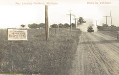 Just Leaving Portland, Michigan (Portland, Michigan Hometown History FB) #PortlandMI http://on.fb.me/1VFDJ4p