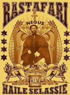Haile Selassie I Rastafari Art, Rastafarian Culture, Rasta Art, Haile Selassie, Black History Books, African Royalty, Tribe Of Judah, Egypt Art, Lion Of Judah