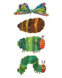 The Very Hungry Caterpillar 3 Art Print by Eric Carle Easyart.com