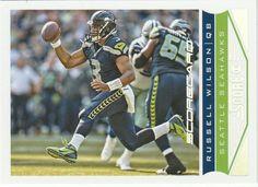 2013 Score Scorecard #193 Russell Wilson - NM-MT #Score #SeattleSeahawks