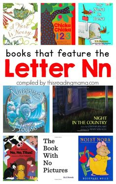 Letter N Book List ~ Books that Feature the Letter N