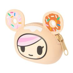 Do you love TokiDoki? This Donutella coin purse is adorbs!