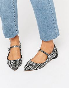 Image 1 of KG By Kurt Geiger Kingdom Mary Jane Flat Shoes