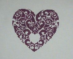 filigree heart.  I found my own completed work on Pinterest.  ~V