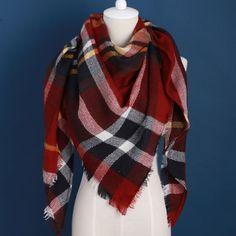 2016 럭셔리 브랜드 디자인 부드러운 캐시미어 여성의 스카프 패션 격자 무늬 대형 담요 파시미나 숄 따뜻한 겨울 워프 스카프
