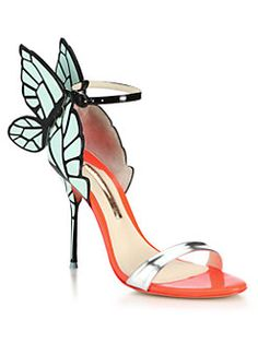 Sophia Webster - Chiara Butterfly Patent Leather Sandals