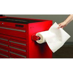 Harbor Freight magnetic paper towel holder!!....U.S. General 69321 Magnetic Paper Towel Holder