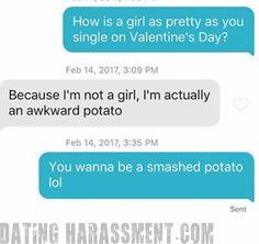 not so romantic Valentine's Day on Tinder  #problem #Tinder