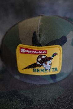 9e9ac7e8c80 Supreme F W  11 Beretta Snapback Snapback