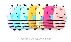 Cute Smile Honey Bee Case for LG Vu 3