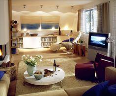 Dachschrägen gezielt ausleuchten  Wohnzimmer Beleuchtung - Licht - Repinnt bige.de