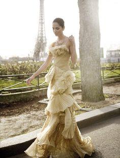 fashion, feminine, frilly, girl, glamour, paris – inspiring picture on Favim.com
