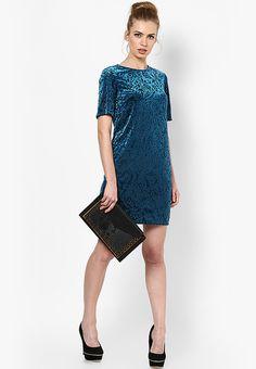 Buy DOROTHY PERKINS Blue Colored Solid Shift Dress Online - 3881020 - Jabong 27c140945