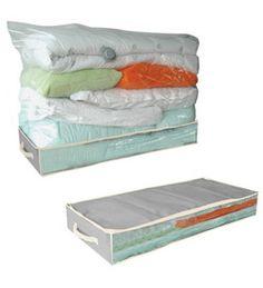 Housse de rangement sous vide d'air dessous de lit: $13.95€