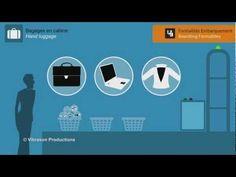 Aéroport Roland Garros - Enregistrement & Formalités d'embarquement - YouTube