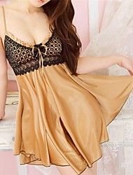 Women Cotton Blends/Lace/Spandex Babydoll & Slips Nightwear(1586164) Get superb discounts up to 80% Off at Light in the Box using coupon.